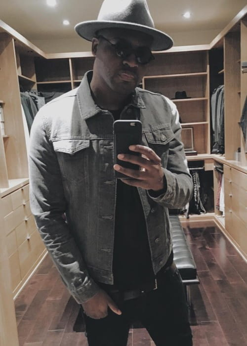 Taio Cruz in an Instagram selfie as seen in April 2018