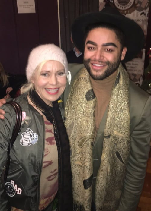 Tina Malone and Mark Byron as seen in January 2017