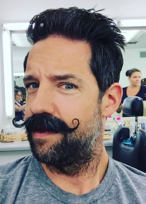 Todd Grinnell in an Instagram selfie as seen in April 2017
