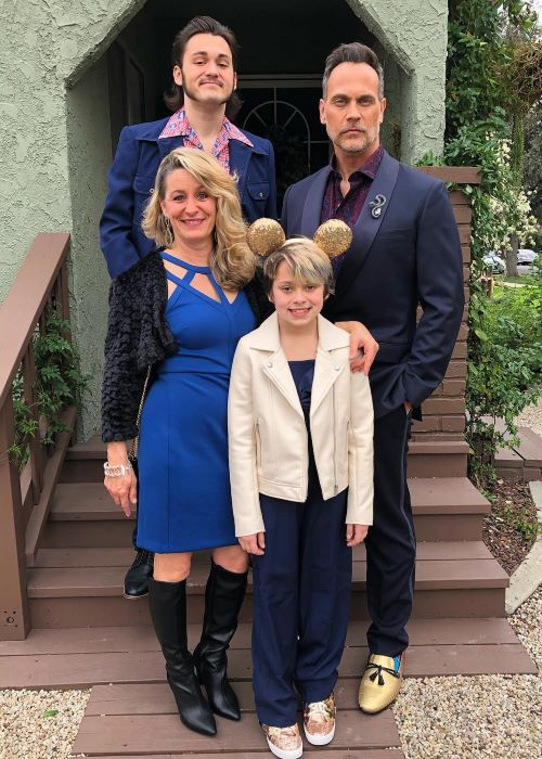 Todd Stashwick with his Family as seen on his Instagram Profile in February 2019
