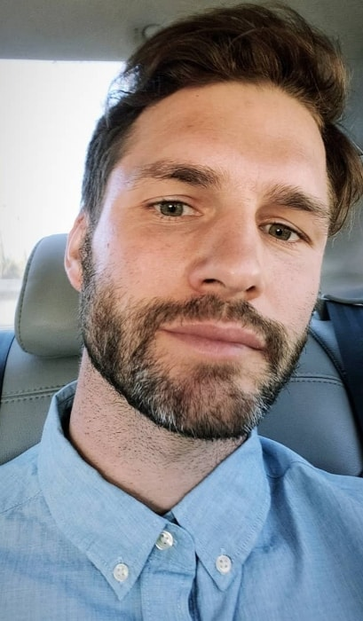 Tomas Skoloudik as seen while taking a Saturday car selfie in 2019