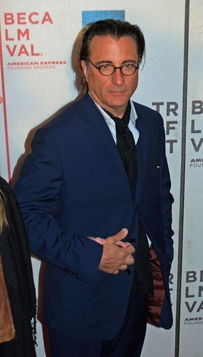 Versatile actor Andy Garcia as seen in April 2007