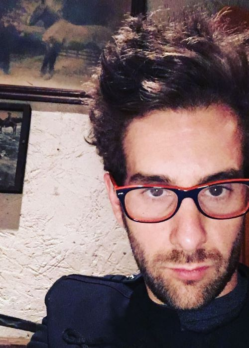 Will Champlin in an Instagram Selfie in October 2016