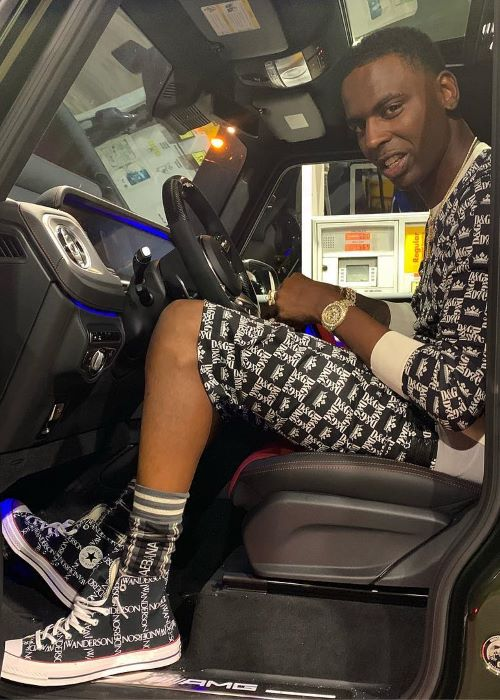 Young Dolph as seen on his Instagram in April 2019