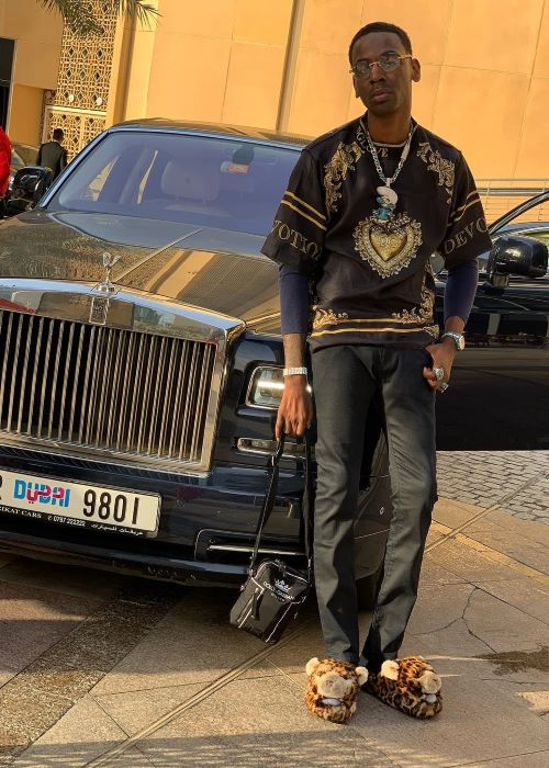 Young Dolph as seen on his Instagram in March 2019