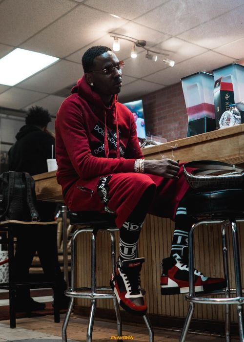 Young Dolph in an Instagram Pic in March 2019