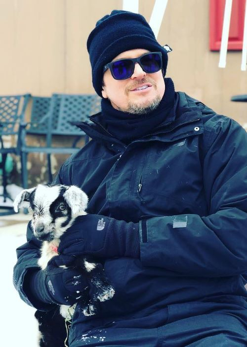 Zak Bagans as seen on his Instagram Profile in February 2019