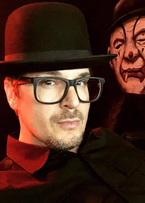 Zak Bagans in an Instagram Selfie in August 2018