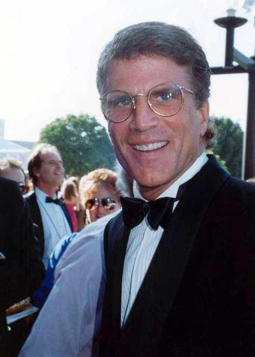 Actor Ted Danson attending the 42nd Emmy Awards in September 1990
