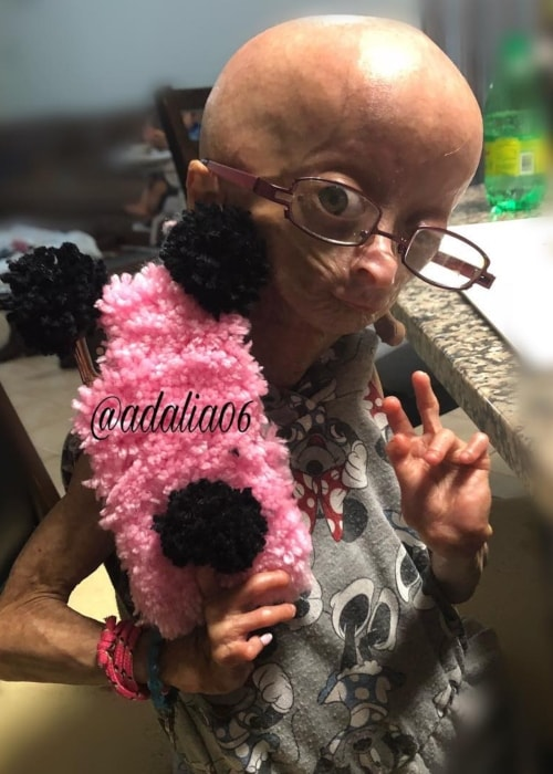 Adalia Rose as seen in a picture taken in February 2018