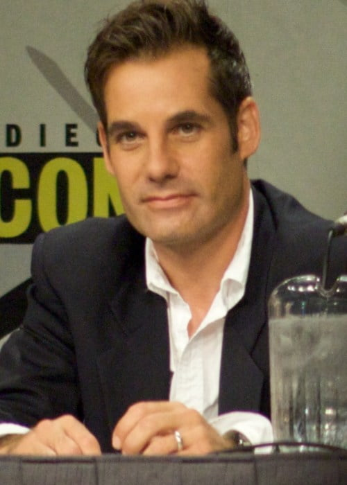Adrian Pasdar at Comic Con in July 2008