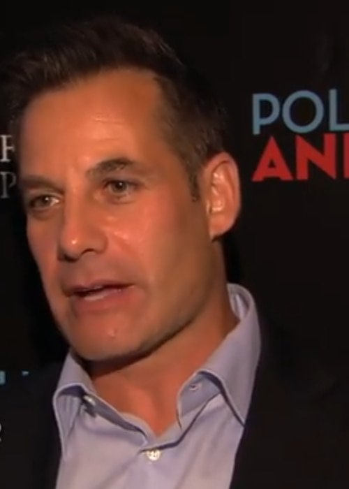 Adrian Pasdar during an interview as seen in August 2012