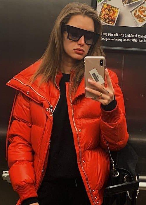 Alyssa Arce in a selfie in December 2018