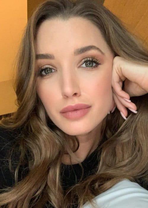 Alyssa Arce in an Instagram selfie as seen in December 2018