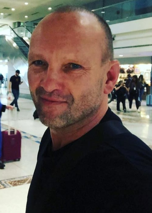Andrew Howard at the Denver International Airport as seen in April 2019