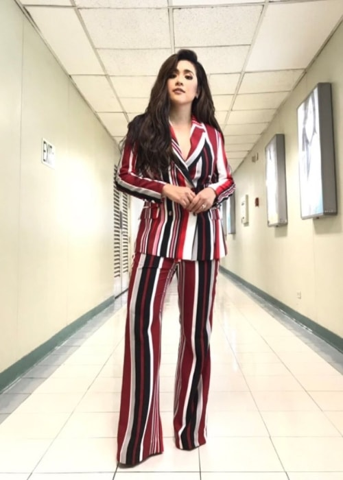 Angeline Quinto as seen while posing for the camera in a stunning outfit in May 2019