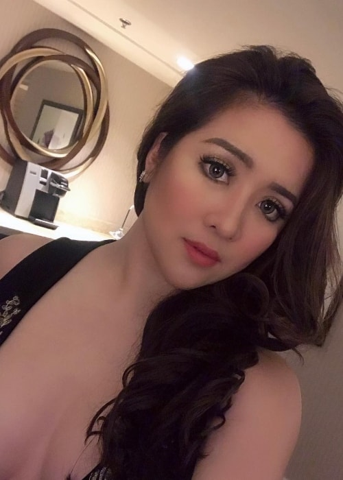 Angeline Quinto as seen while taking a gorgeous selfie in Brooks, California, United States in January 2019