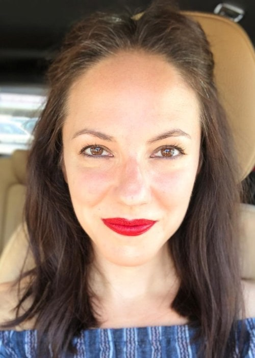 Anna Silk in an Instagram selfie as seen in June 2018