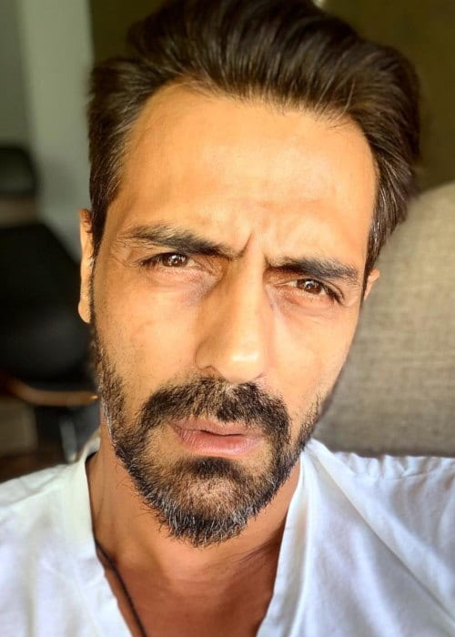 Arjun Rampal in an Instagram selfie as seen in April 2019