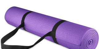 BalanceFrom GoYoga All Purpose High Density Non-Slip Exercise Mat