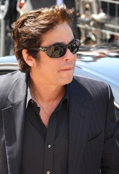 Benicio del Toro at the Cannes Film Festival in 2012