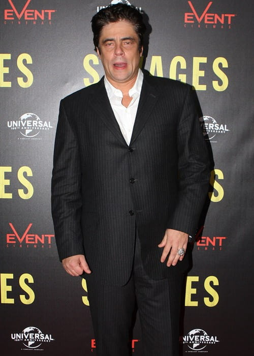 Benicio del Toro during an event in October 2012