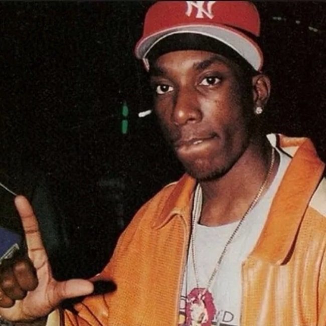 Big L as seen while posing for a picture