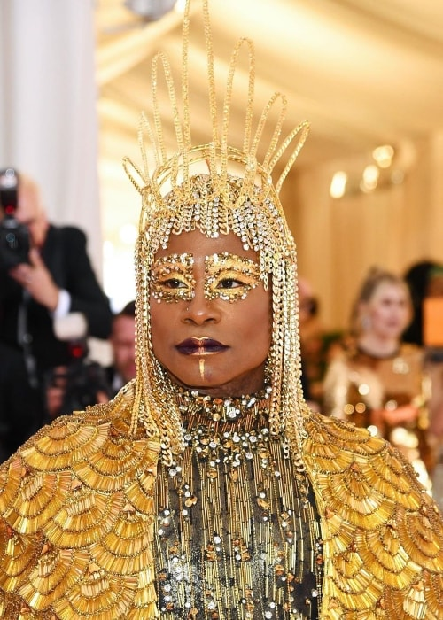 Billy Porter as seen in his stunning costume during the Met Gala 2019 in The Metropolitan Museum of Art, New York City, New York, United States