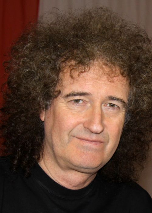 Brian May as seen in 2010