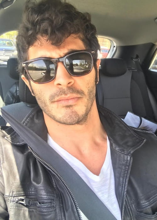 Burak Deniz in an Instagram selfie as seen in April 2019