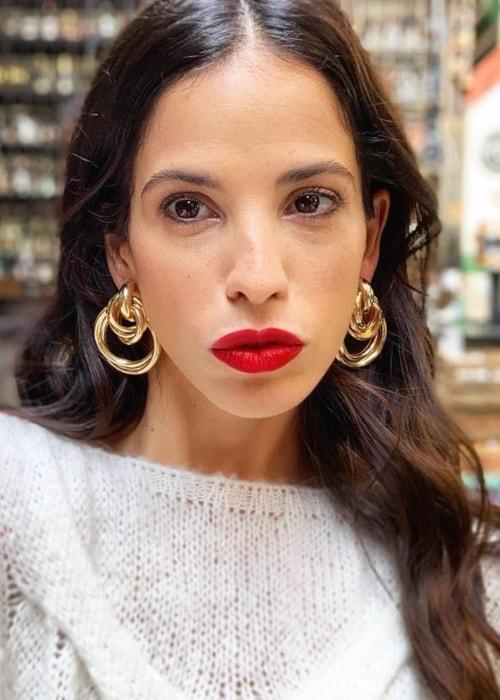 Candelaria Molfese as seen in a selfie taken in Buenos Aries in April 2019
