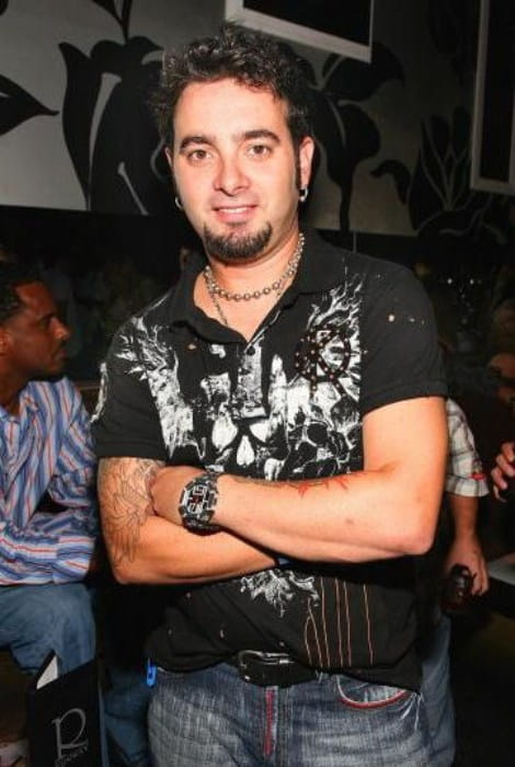 Chris Kirkpatrick during an event in September 2007