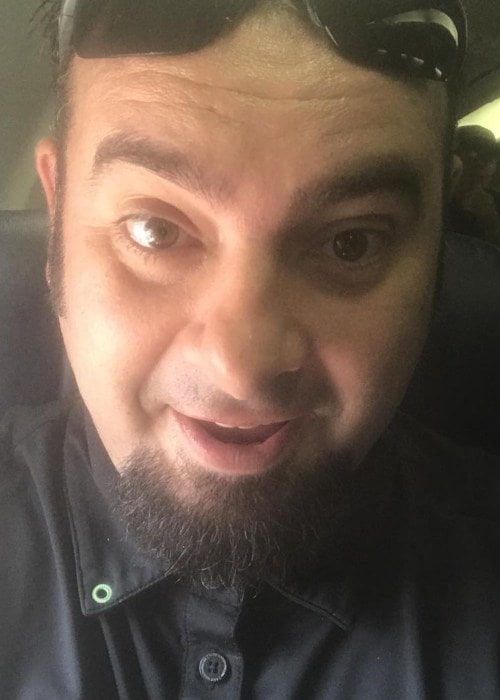 Chris Kirkpatrick in an Instagram selfie as seen in August 2018