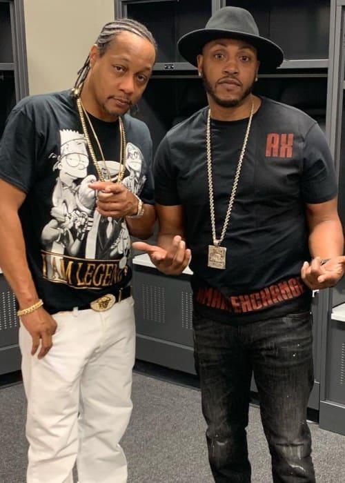DJ Quik (Left) and Mystikal as seen in April 2019