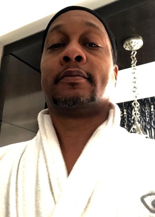 DJ Quik in an Instagram selfie as seen in March 2019