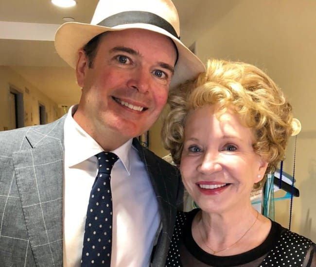 Debra Jo Rupp and Jefferson Mays as seen in September 2018