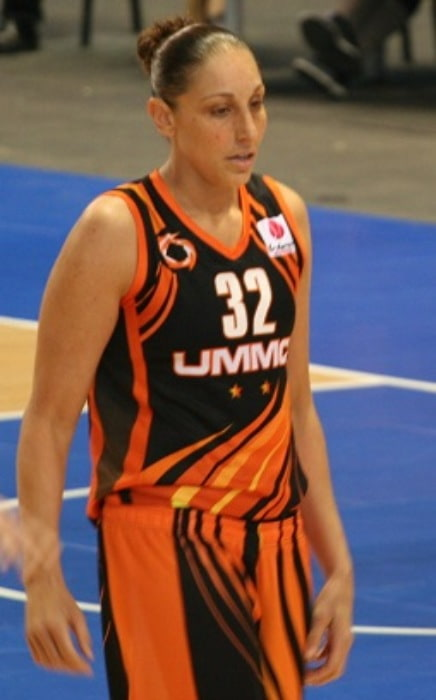 Diana Taurasi during a match in December 2014