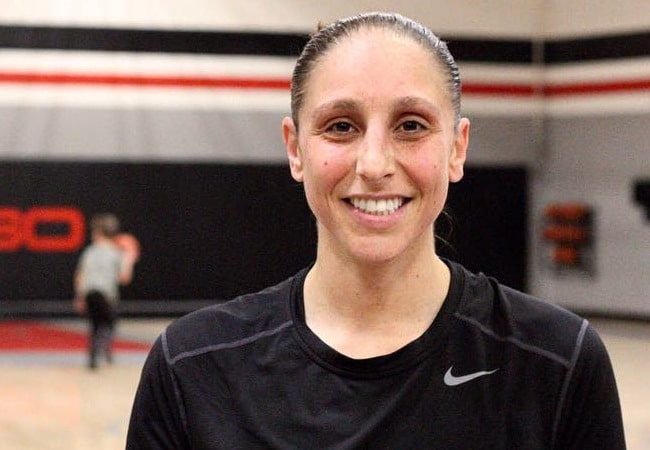 Diana Taurasi in an Instagram post as seen in February 2018