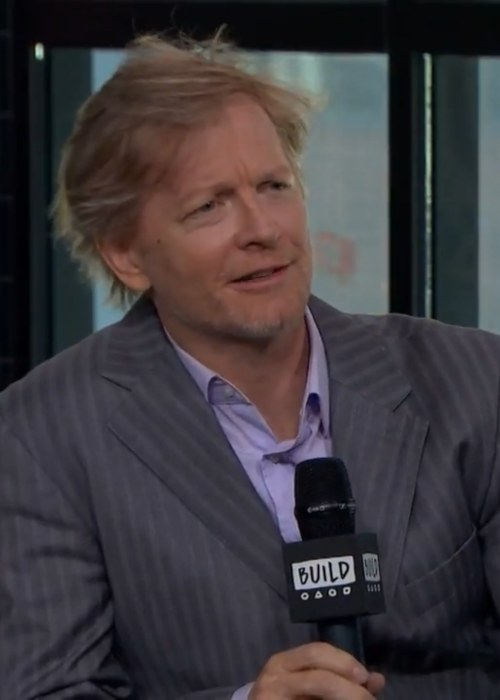 Eric Stoltz during an interview as seen in May 2018