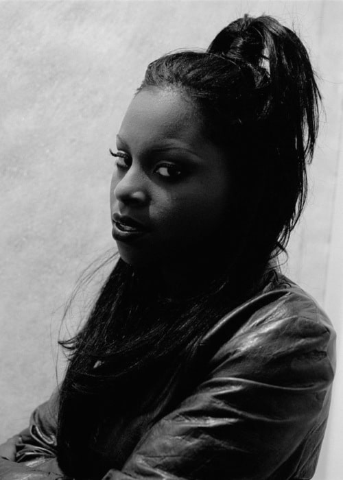 Foxy Brown in New York as seen in April 1998