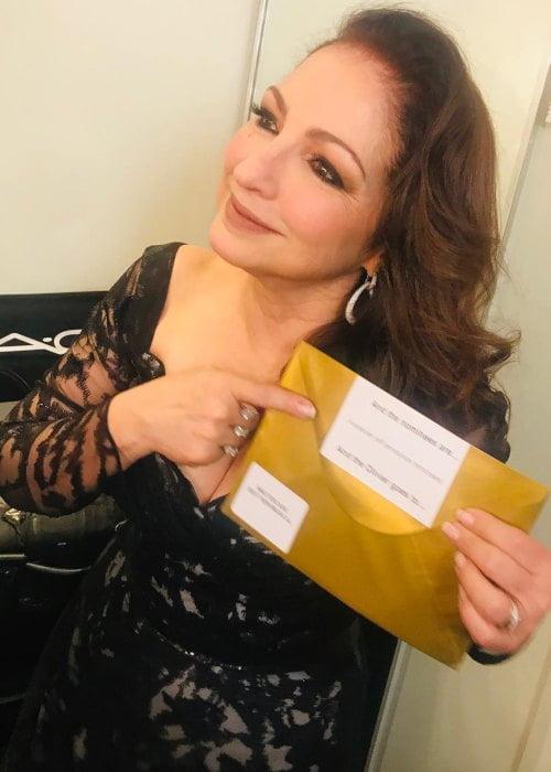 Gloria Estefan in an Instagram post as seen in April 2019