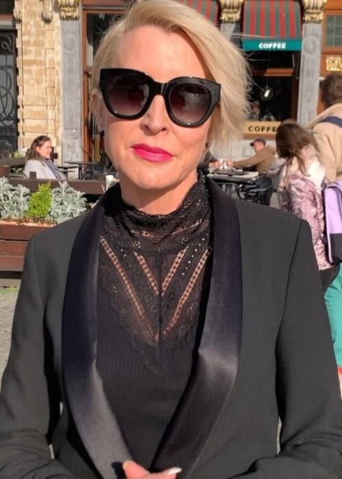 Heather Mills as seen in April 2019