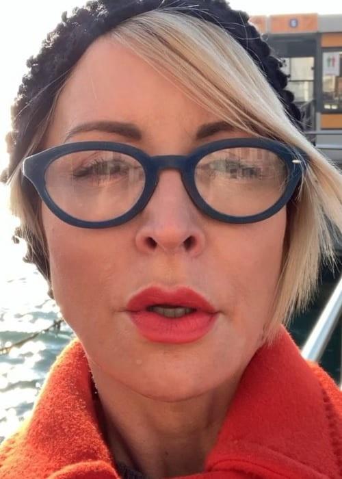 Heather Mills in an Instagram selfie as seen in January 2019