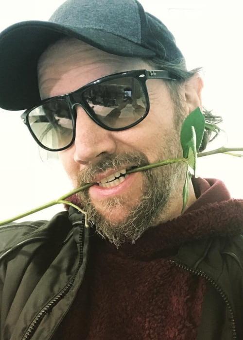 Jamie Kennedy in an Instagram selfie as seen in February 2019
