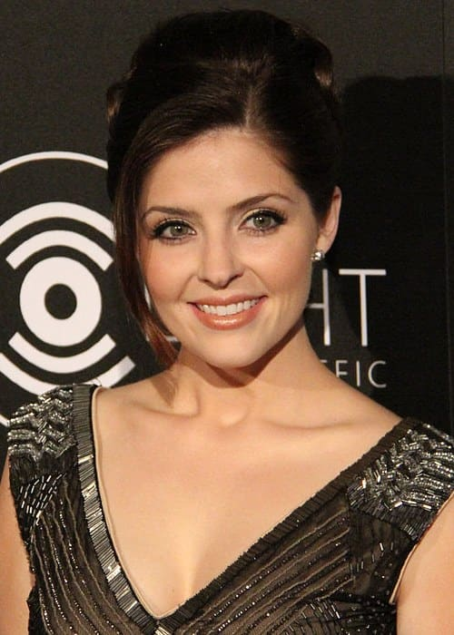 Jen Lilley at Redlight Traffic's inaugural Dignity Gala in October 2013