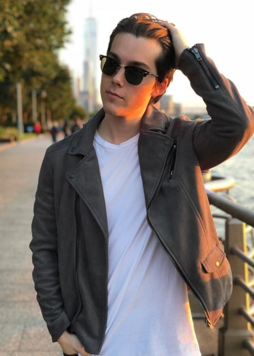 Jeremy Shada as seen in October 2018