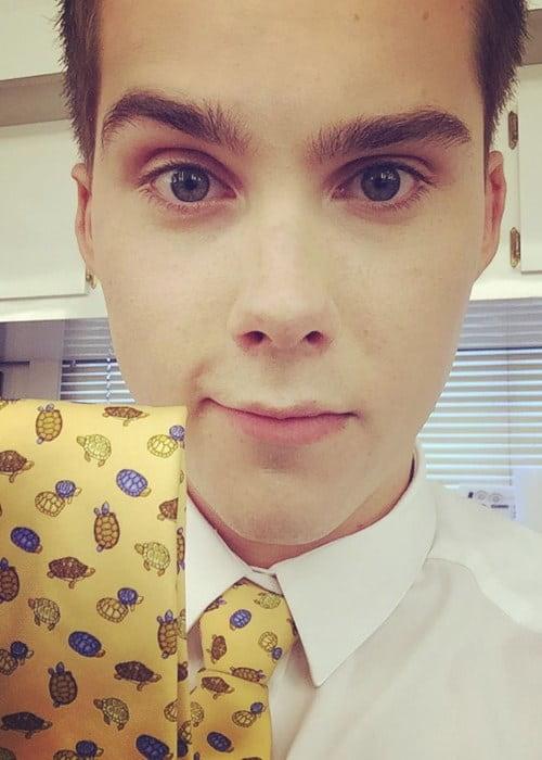 Jeremy Shada in an Instagram selfie as seen in June 2017