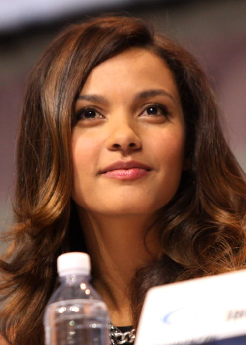 Jessica Lucas at the 2013 WonderCon at the Anaheim Convention Center