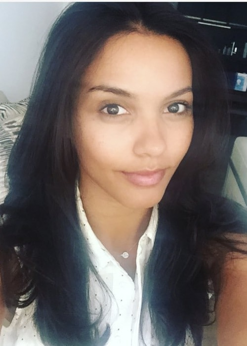 Jessica Lucas in an Instagram selfie as seen in June 2016
