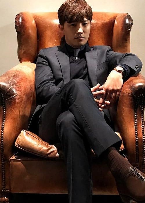 Jin Goo as seen in December 2016